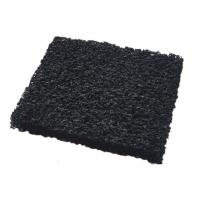 China ISO9001 10 - 60 ppi Granular Activated Carbon Air Filter Media With High Carbon Content wholesale