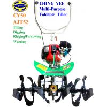China CY50 Multi-purpose Foldable Garden Tiller wholesale