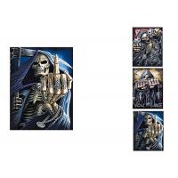China 3 Different Images Of Grim Ripper  Lenticular Flip With 30x40cm For House Decoration wholesale