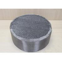 China Industrial Chemicals Packed Column Distillation Metal Sheet Packing For Absorption wholesale