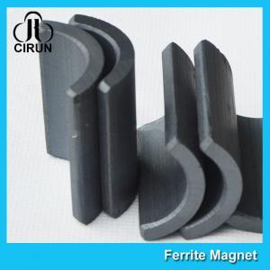 China Y30 Grade Permanent Ferrite Arc Magnet For DC Motor Multipurpose Use wholesale