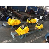 China 120 Ton Tank Turning Roller Bed for Offshore Construction 6m Diameter Double Driver wholesale