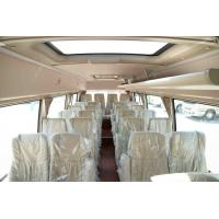 Quality 4×2 Commercial Toyota Coaster Motorhome Vehicles Folding Door Staff Small ISUZU for sale