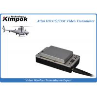China Lightweight HD UAV Video Transmitter 20km Wireless COFDM UAV Link with Battery wholesale