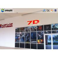 China Attractive 7D Movie Theater 7D Cinema Equipment / Simulator System For Shooting Game wholesale