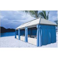 China China outdoor gazebos restaurant tent beach canopies rattan tents 1112 wholesale