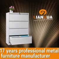 China Lateral Metal 4 Drawer File Cabinet LH-4D-003 wholesale