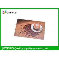 China Customized Color / Size Restaurant Table Mats , Square Table Placemats PP Material wholesale