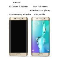 Buy cheap Samsung Galaxy S6 Edge tempered glass screen protector Edge to Edge full from wholesalers