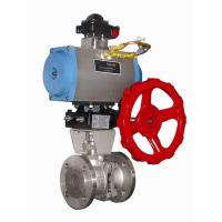 Quality DA-63 Automated Ball Valve Actuator , Compact Double Acting Valve Actuator for sale