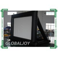China PVC Waterproof inflatable movie screen rental , Inflatable Advertising Screen on sale