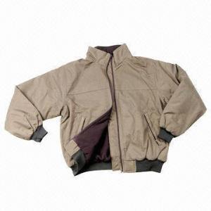 China Men's Jacket, Made of Nylon Taslon, with Metal Zipper wholesale