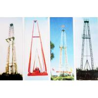China Vertical Shaft Core Drilling Rig Mast / Straight And Slanting Drill Tower wholesale