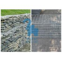 China Durable Steel Gabion Baskets Mattress Gabion For Reinforcing Embankment wholesale
