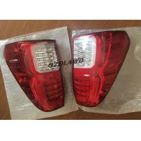 China Red & Smoke LED Tail Lights Rear Lights 4x4 For Toyota Hilux Revo SR5 2015-2017 wholesale