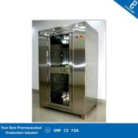 China Cleanroom Pass Through Window Personal Air Shower Pass Box Applied Optoelectronic Display on sale