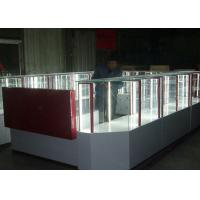 China Pre - Assembled Structure Cell Phone Accessories Kiosk / Store Display Fixtures wholesale