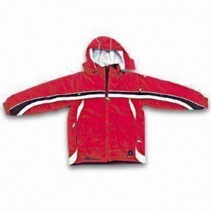 China Nylon Talson Ski Jacket with PU Coating and 100% Polyester Lining wholesale