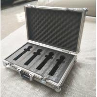 China 4 Pieces in 1 Microphone Flight Case and Tool Case Double-Box Aluminum Tool Box on sale