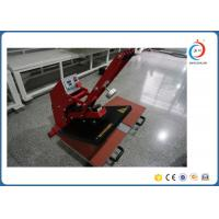 Buy cheap Manual 2 Working Bench T Shirt Heat Transfer Machine with Auto Open Magnetic from wholesalers