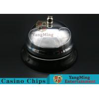 China Casino Dedicated Stainless Steel Call Bell For Casino Poker Table Games wholesale