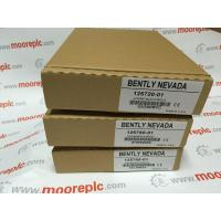 China Bently Nevada 3500 System / Bently Nevada 3300 55 Dual Velocity Monitoring wholesale