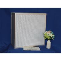 China High Efficiency HEPA Furnace Filter Deep Pleat For Cleaning Equipments wholesale