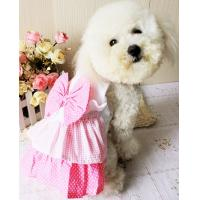 China 2012 cute pink dog skirt dog clothes wholesale