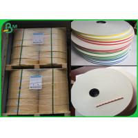 China FDA Certificate 13MM Raw Pulp Straw Paper Material For Drinking wholesale