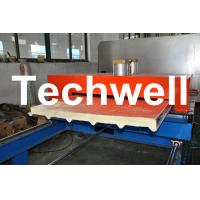 China PU Insulated Cold Roll Forming Machine For Making Sandwich Panels wholesale
