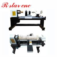China Best selling star products Mini CNC Wood Turning Lathe for round beads in 2019 wholesale