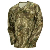 China Hunting Camo Long Sleeve Camouflage T Shirt 100% Poly With Wicking Function wholesale