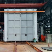 China Recycling Type Shot Blasting Chamber , Industrial Blast Cabinet For Castings Surface Cleaning wholesale