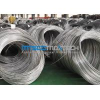 Buy cheap ASTM A269 Stainless Steel Coil Tubing , Super Long Cold Drawn Seamless Tube from wholesalers
