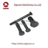 China Clip Bolt for Rail Fishplate, Railway Fasteners Hex Head Bolt wholesale