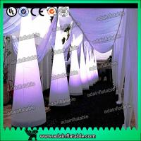 China 3M Wedding Events Party Decoration White Inflatable Cone Entrance Customized wholesale
