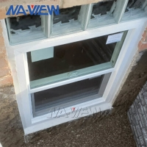 China Naview Aluminium Modern Custom Double Hung Egress Window wholesale