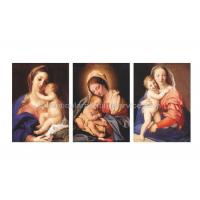 China Jessus / Religeon Murals 3D Lenticular Pictures Flip Change Effect CMYK Printing wholesale