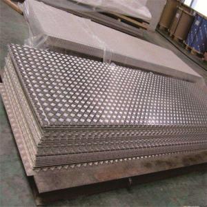 China 5 Bar 1070 1100 1200 3003 Aluminum Checker Plate Sheets wholesale