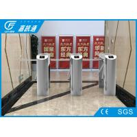China Semi Automatic Half Height Turnstile Access Control Systems 30 Person / Min wholesale