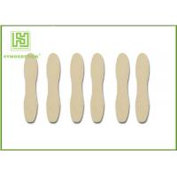 China Short Natural Wood Sticks Non - Flavor With CIQ Certificated Smooth Surface wholesale