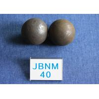 China High Surface Hardness 61 - 63hrc Grinding Media Balls B2 D40mm Even hardness for Cement Plants wholesale