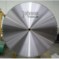 China 1100mm laser saw blade for prestressed concrete cutting , 44 Inch saw blade, fast cutting and long life wholesale