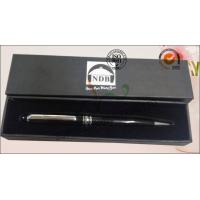 China Luxury Rigid Cover Office Paper Box , Hard Cardboard Pen Presentation Packaging Box on sale