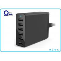 China Multiple USB Charger 50W 10A Travel Wall Charger with 6 Ports for Quick Charge wholesale