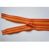 Quality Colourful metel pull background nylon coil zipper zipper for jacket  , coat , dress for sale
