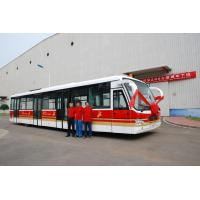 China 4 Door 14 Seater Airport Coach Terminal Shuttle Bus 22m2 Effective Standing Area wholesale