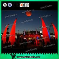 China New Design Holiday Events Decoration Inflatable Cone LED Lighting Inflatable Pillar wholesale