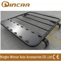 Buy cheap 4x4 car roof rack universal car aluminium luggage rack No Frame Gutter mount brackets product