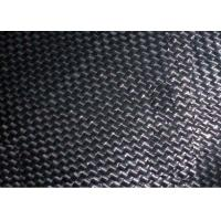 Buy cheap Black Color Geotextile Stabilization Fabric Corrosion Resistant Easy Operation from wholesalers